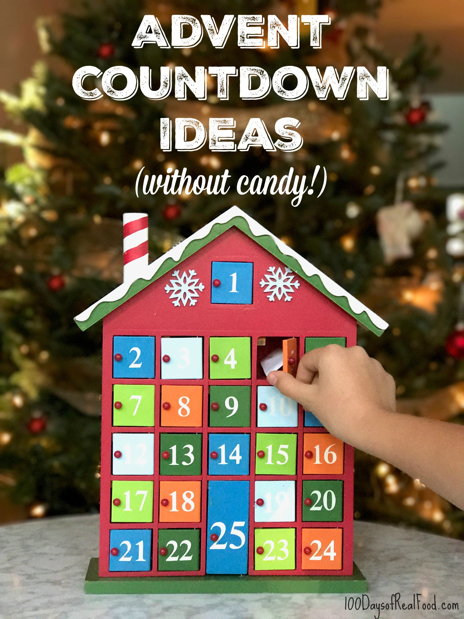 Advent Calendar Ideas W O Candy Updated