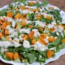 Easy Butternut Squash Salad with Feta 1