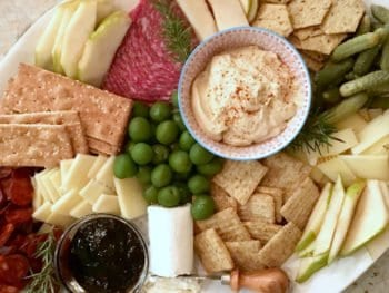 How To: Holiday Appetizer Platter