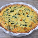 Ricotta and Kale Quiche on 100 Days of Real Food