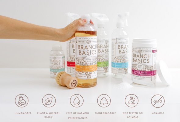 Branch Basics product display