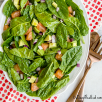 Simple Grapefruit and Avocado Salad 1