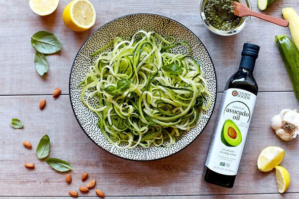 Avocado Oil with Zoodles