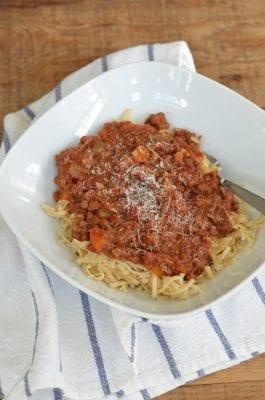Bolognese Sauce (in the Crock-Pot® Express Crock Multi-Cooker) 3