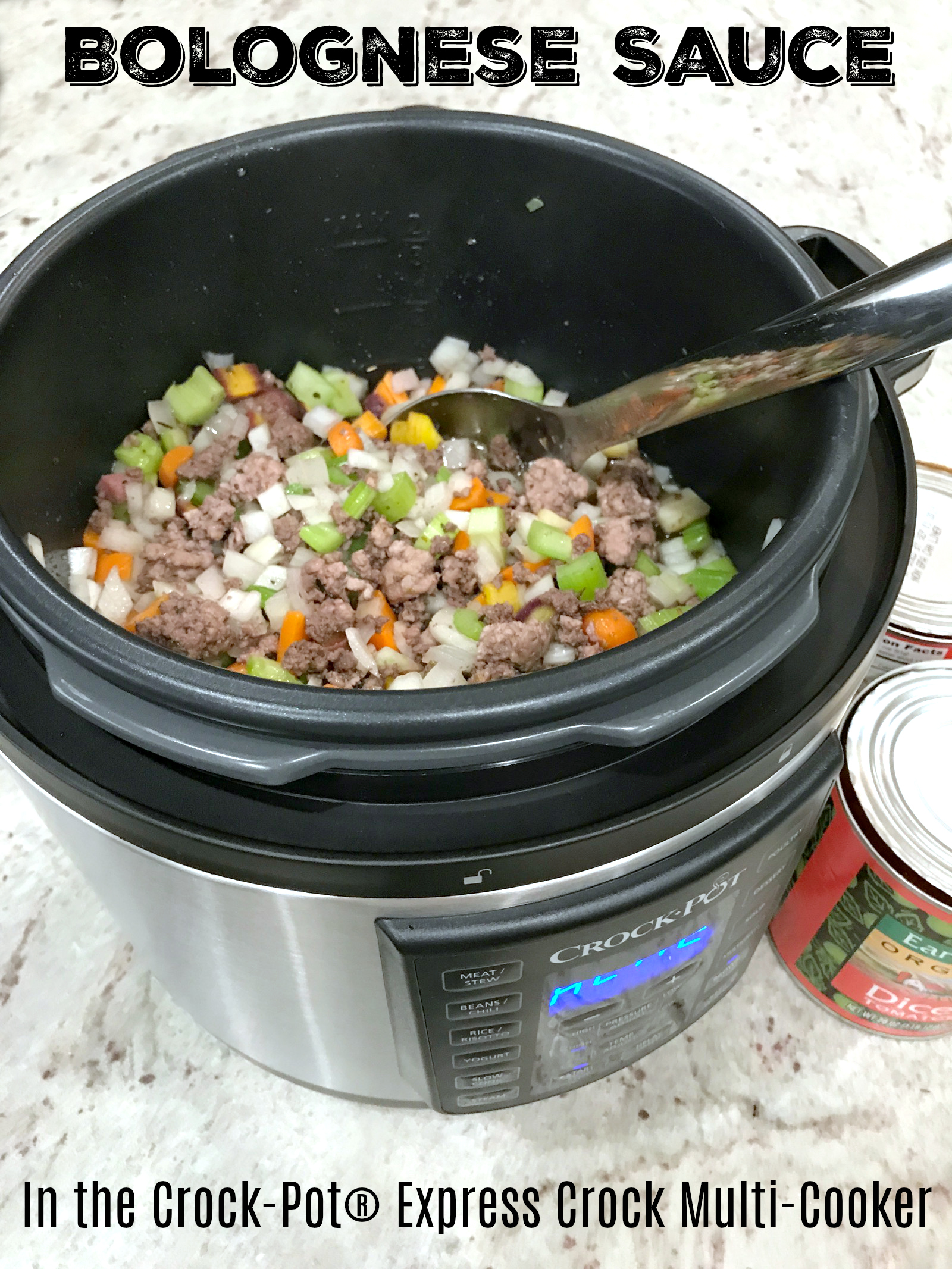 Bolognese Sauce (in the Crock-Pot® Express Crock Multi ...