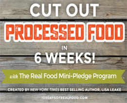 Fresh Start in the New Year with the Real Food Mini Pledge Program