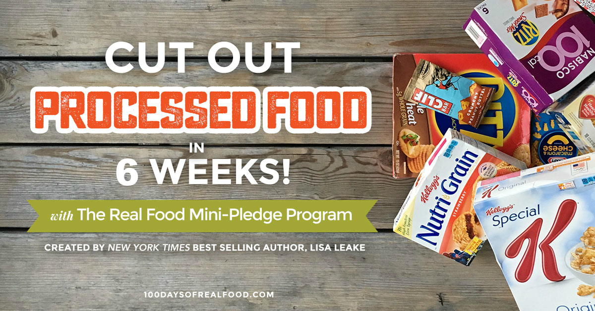 Cut Out Processed Food in 6 Weeks