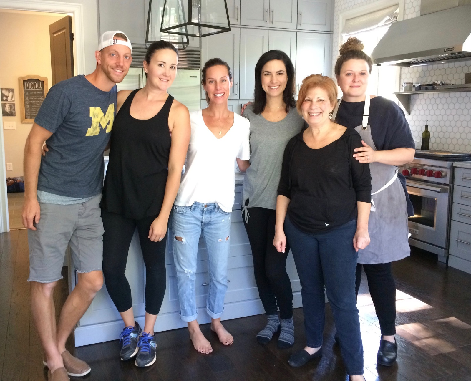 The team for my 3rd cookbook