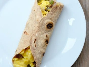 Easy Breakfast Burritos (for the freezer!)