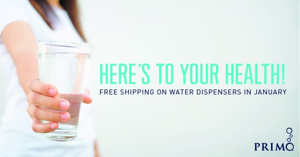 Primo® Water Free Shipping Deal