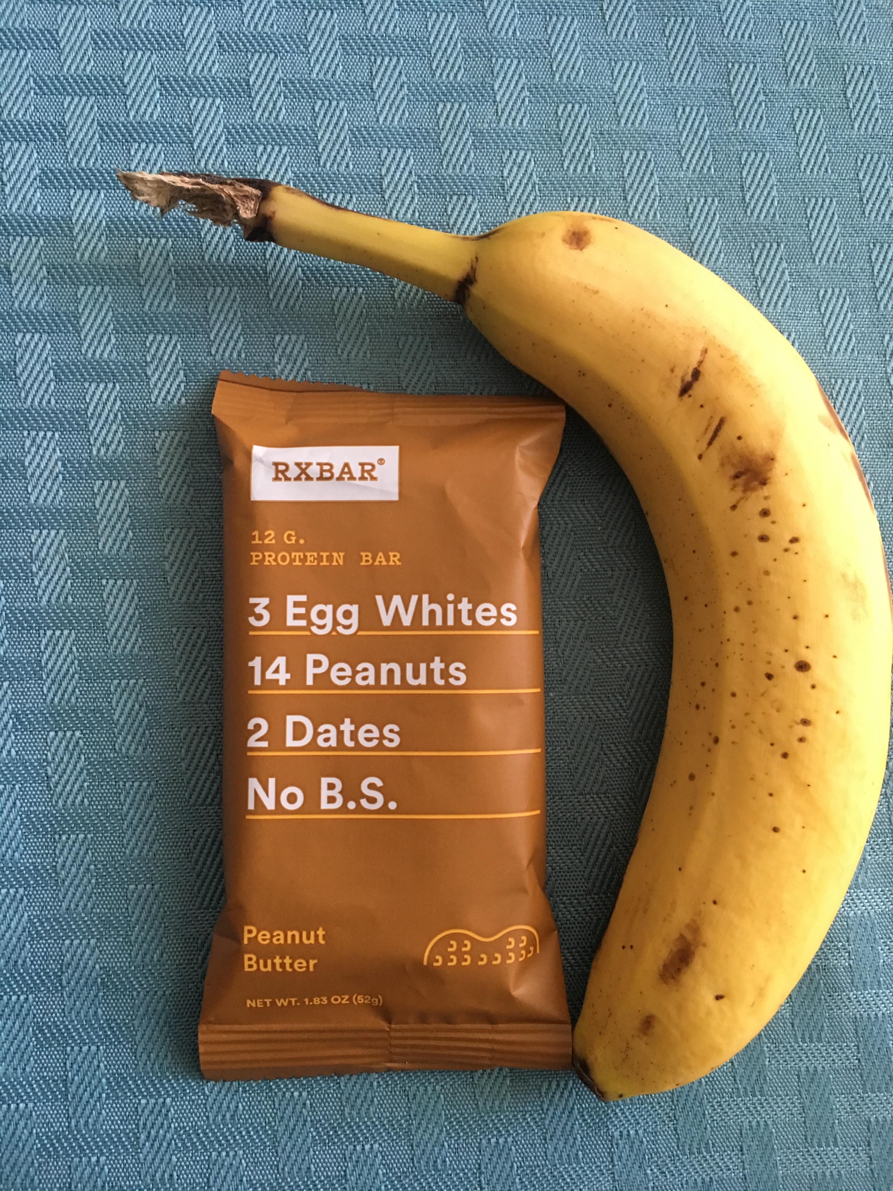 RXBar and banana
