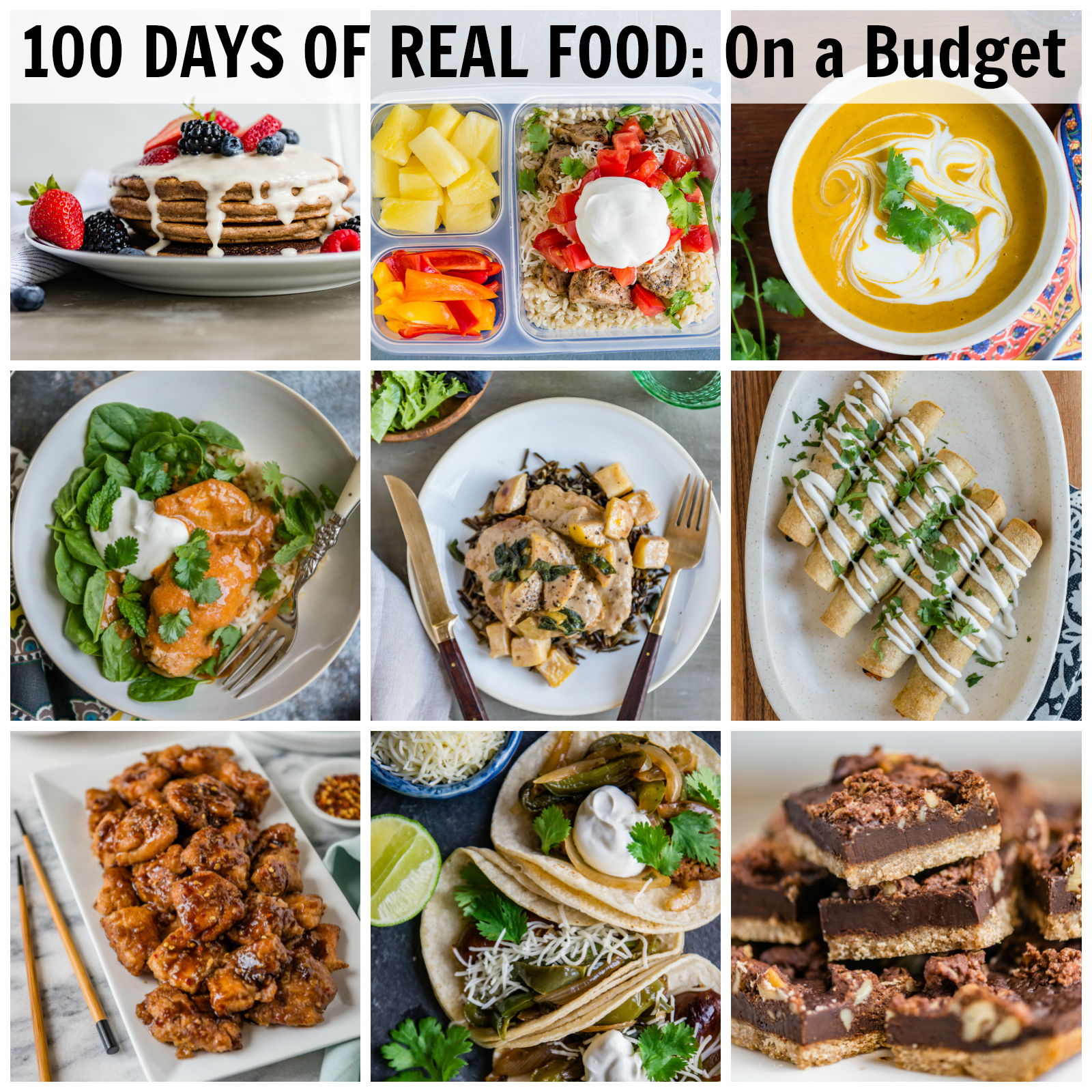 100 Days of Real Food on a Budget Cookbook