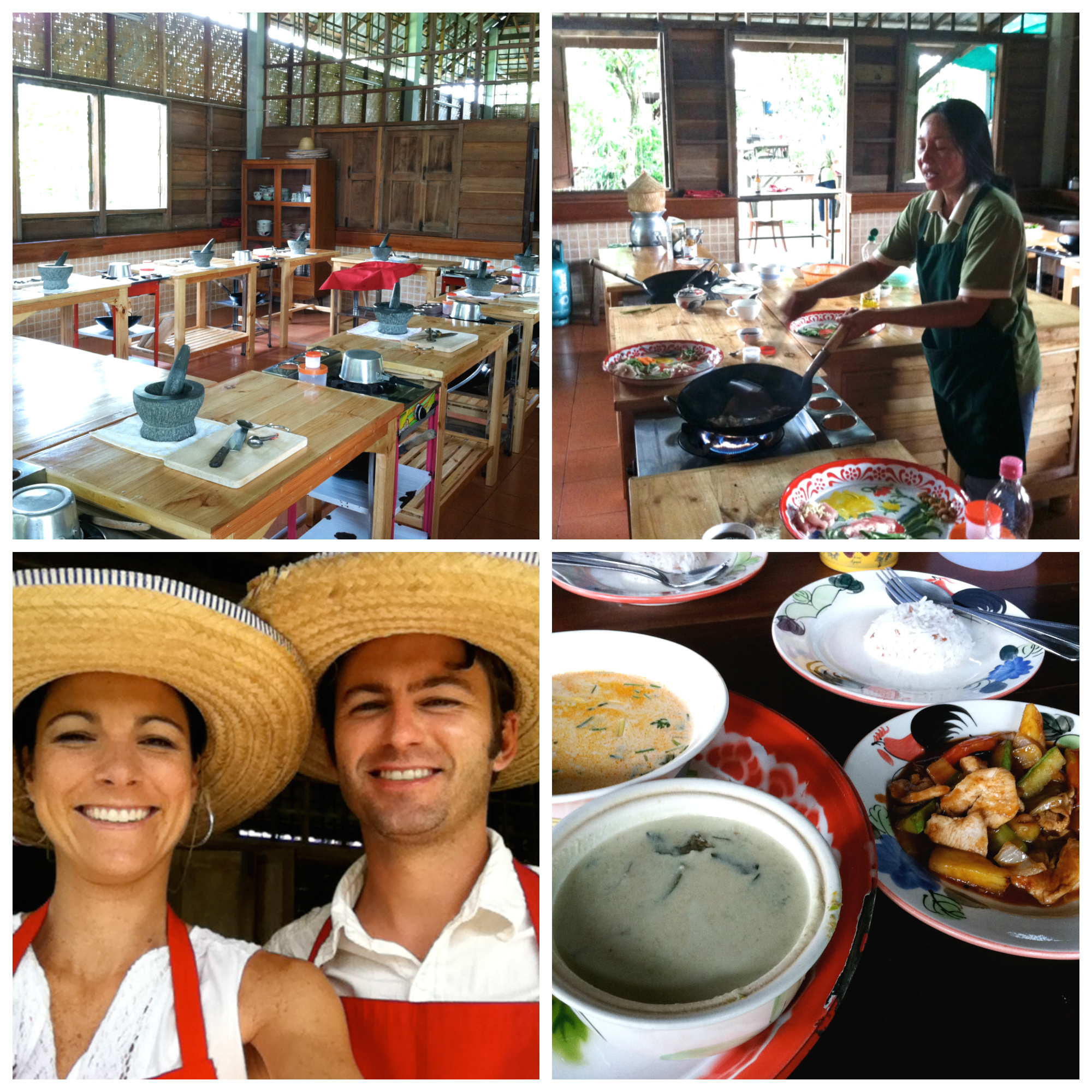 Thai Cooking Class on 100 Days of Real Food