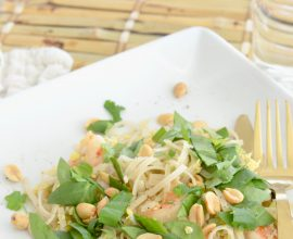 The Best Shrimp Pad Thai on 100 Days of Real Food