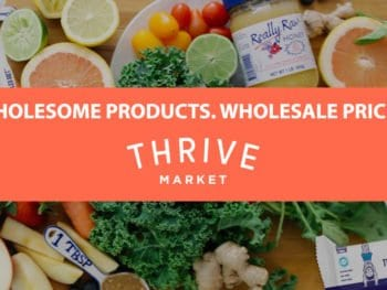 14 Items Cheaper at ThriveMarket.com