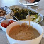 Easy Fondue on 100 Days of Real Food