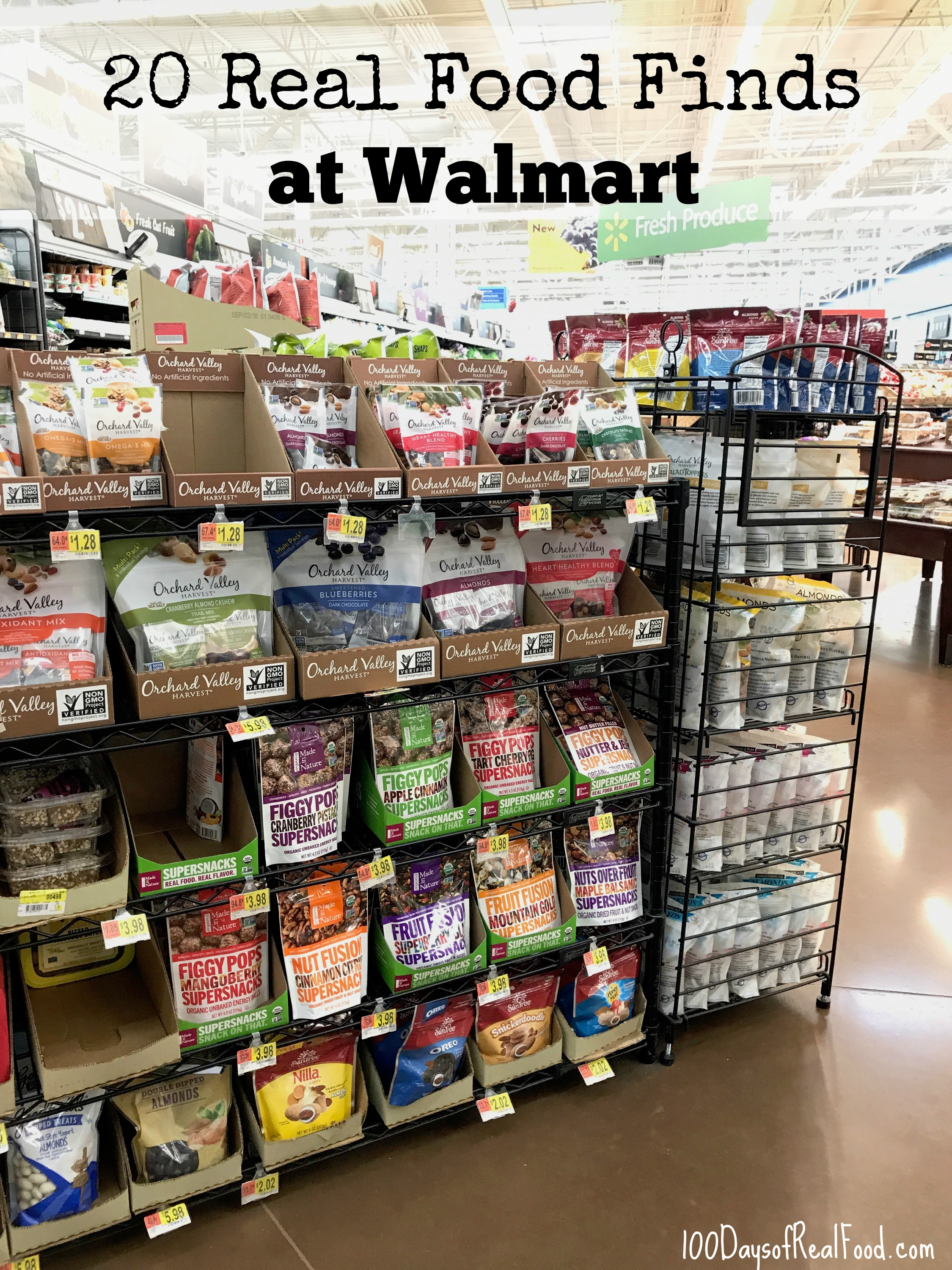 20 Real Food Finds at Walmart