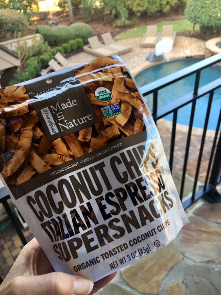 Food Diary: Made in Nature Coconut Chips