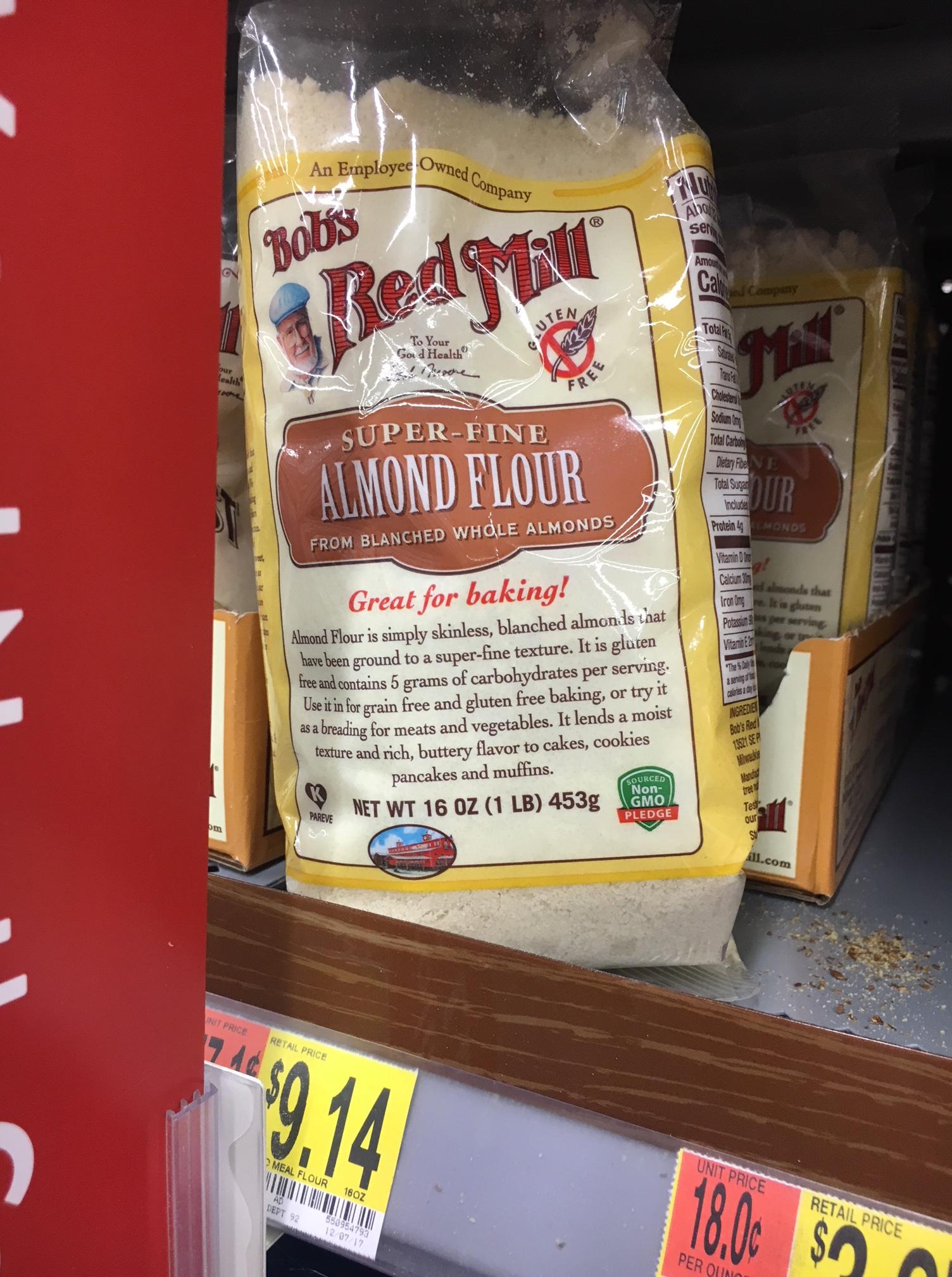 Almond flour at walmart