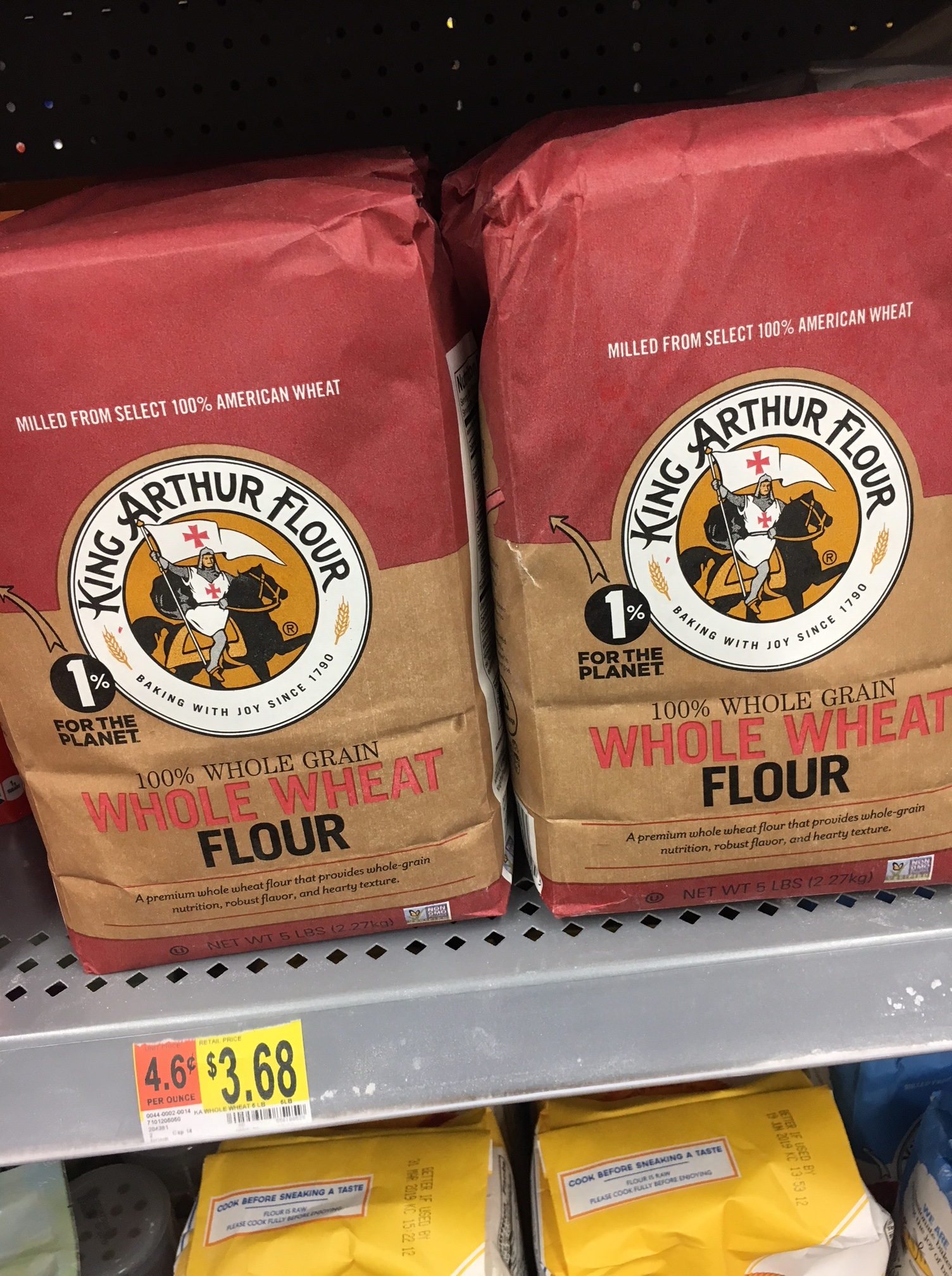 king arthur whole wheat flour at walmart