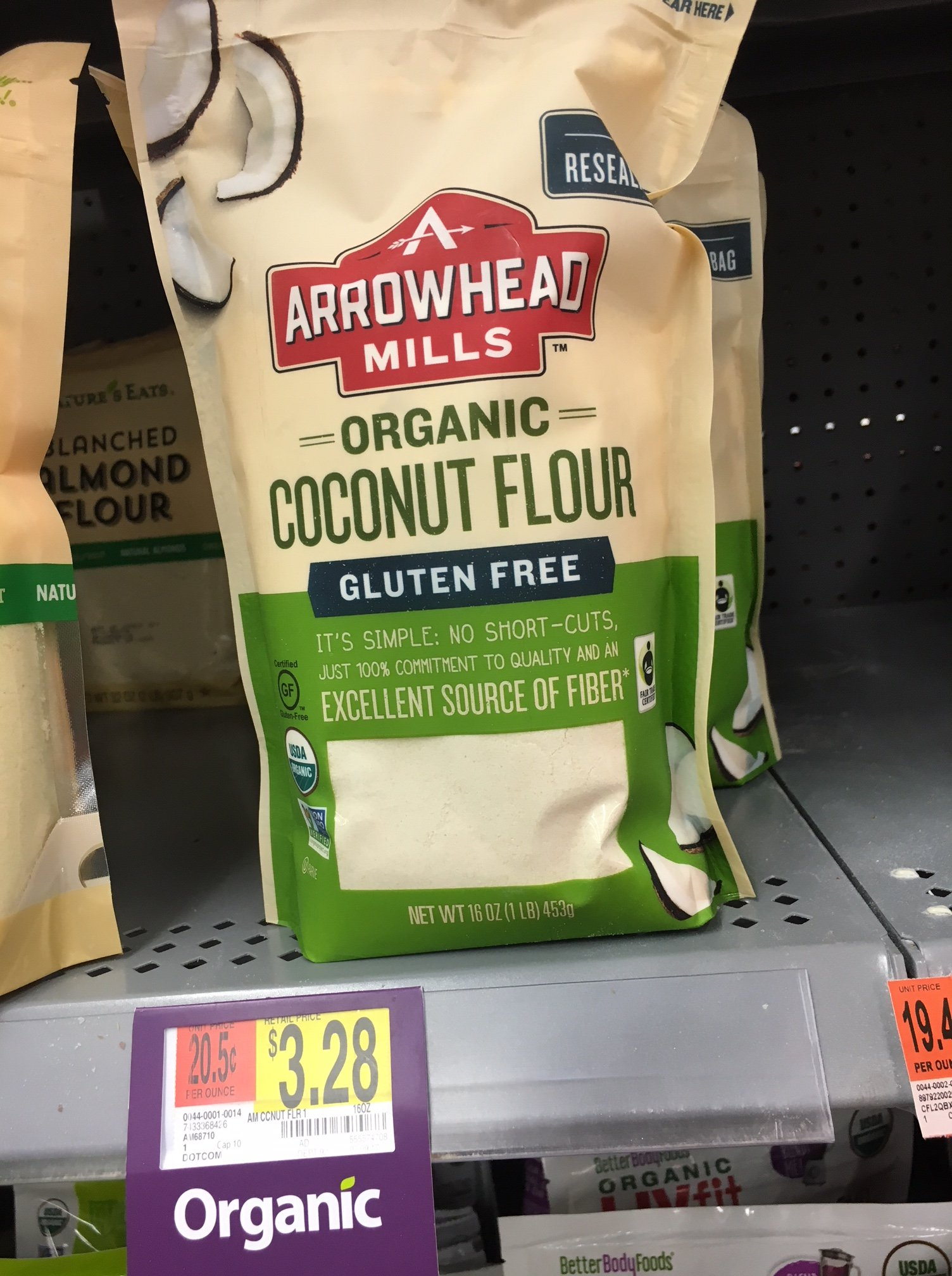 coconut flour at walmart