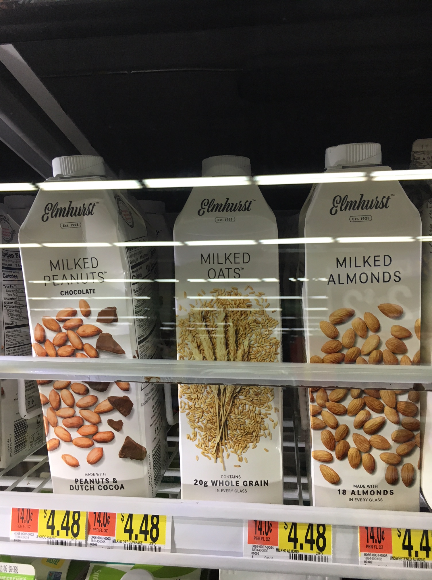 lactose free milk options at walmart