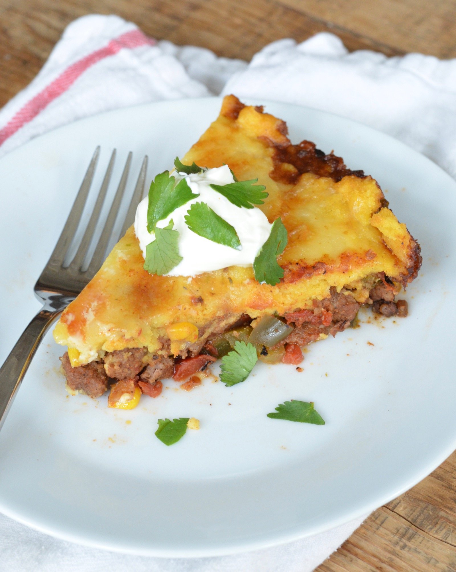 Easy Tamale Pie on 100 Days of Real Food