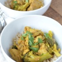 Weeknight Chicken Curry Bowls 1