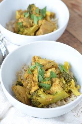 Weeknight Chicken Curry Bowls 1