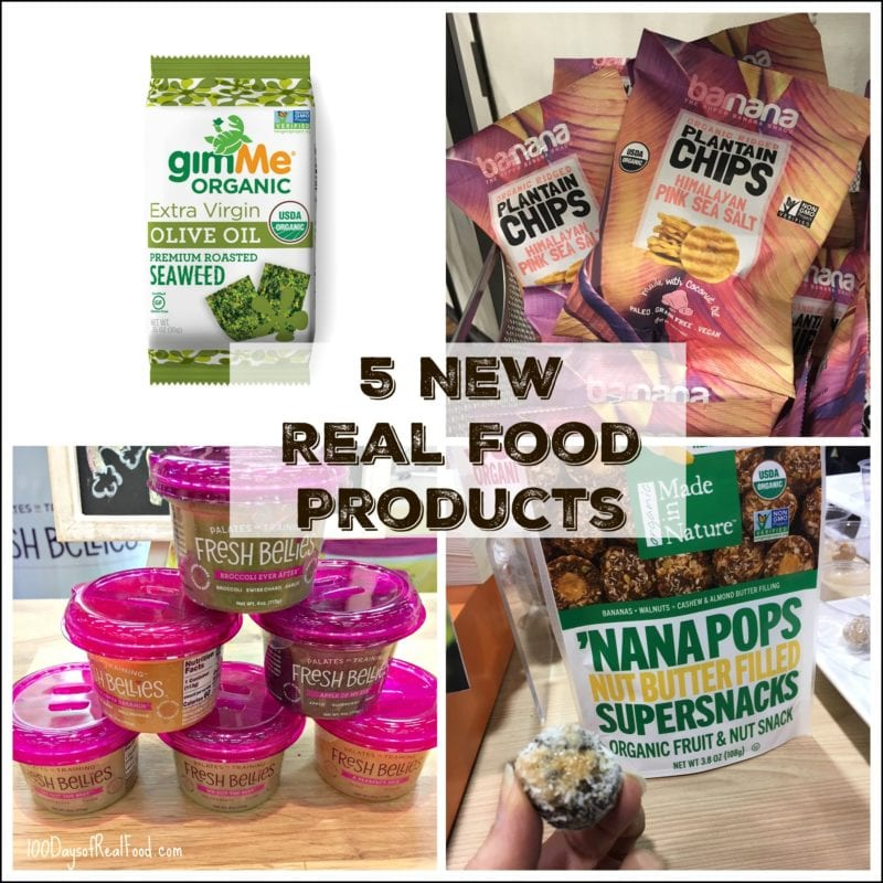 photo of 5 new real food products