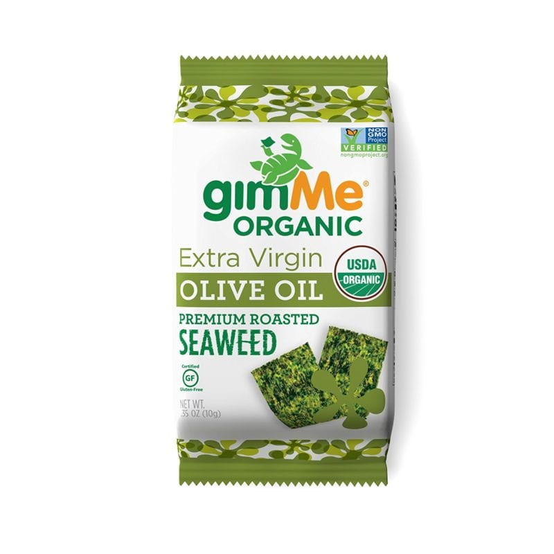 photo of gimMe organic seaweed snack - real food products