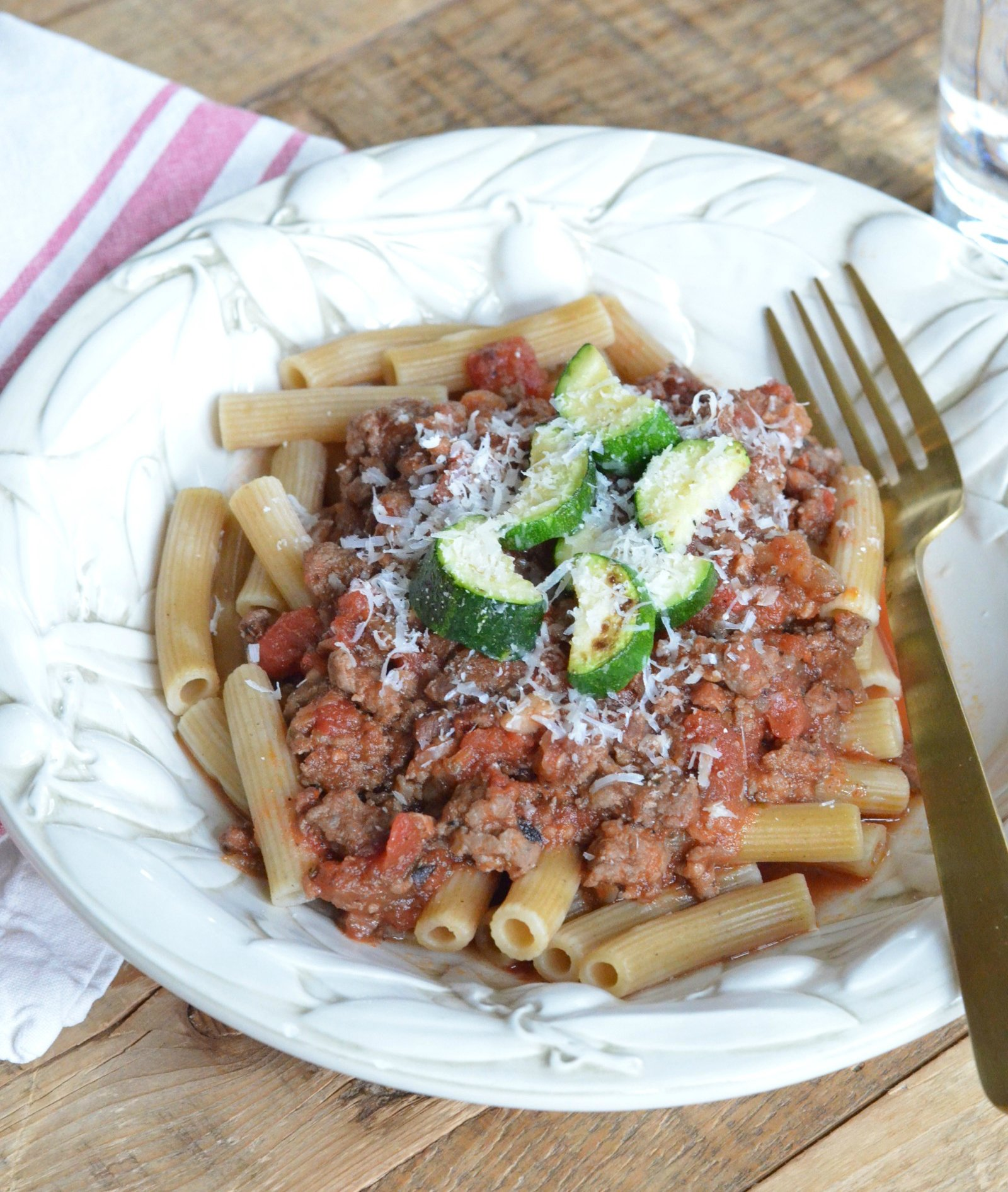 Simple Meaty Spaghetti Recipe: The Best Meaty Spaghetti Sauce » 100 Days Of Real Food