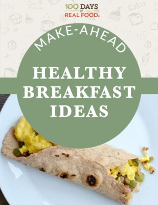 Make-Ahead Healthy Breakfast Ideas