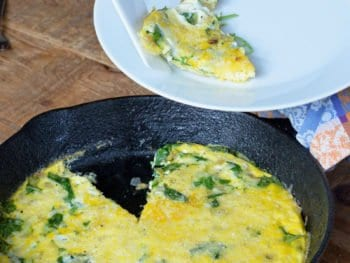 Simple 20 Min Frittata on 100 Days of Real Food