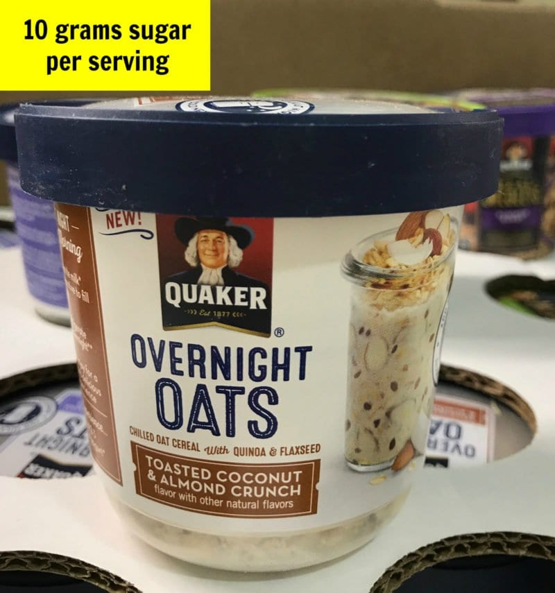 Sugar in overnight oats