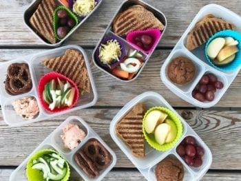 image of packed lunches - learn 8 reasons to pack your own lunch