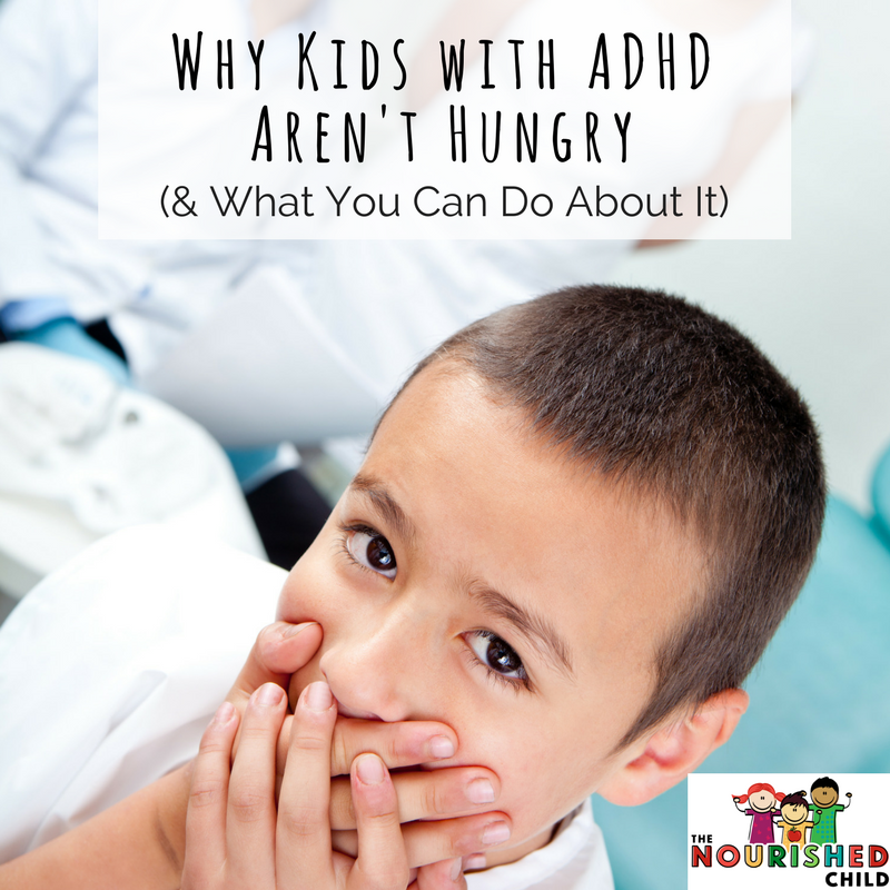 Why Kids with ADHD Aren't Hungry (& What You Can Do About It) - photo of child with hands over mouth