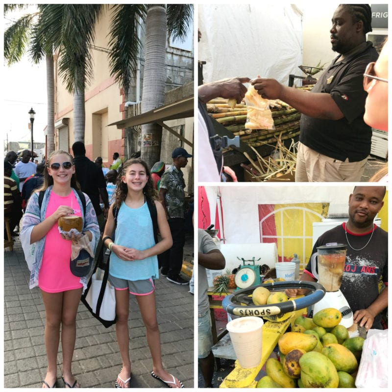 Coconut Water and Other Snacks in Jamaica 100 Days of Real Food
