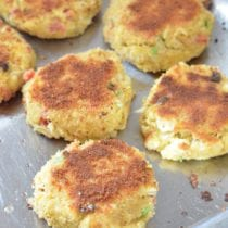 Easy Homemade Crab Cakes on 100 Days of Real Food