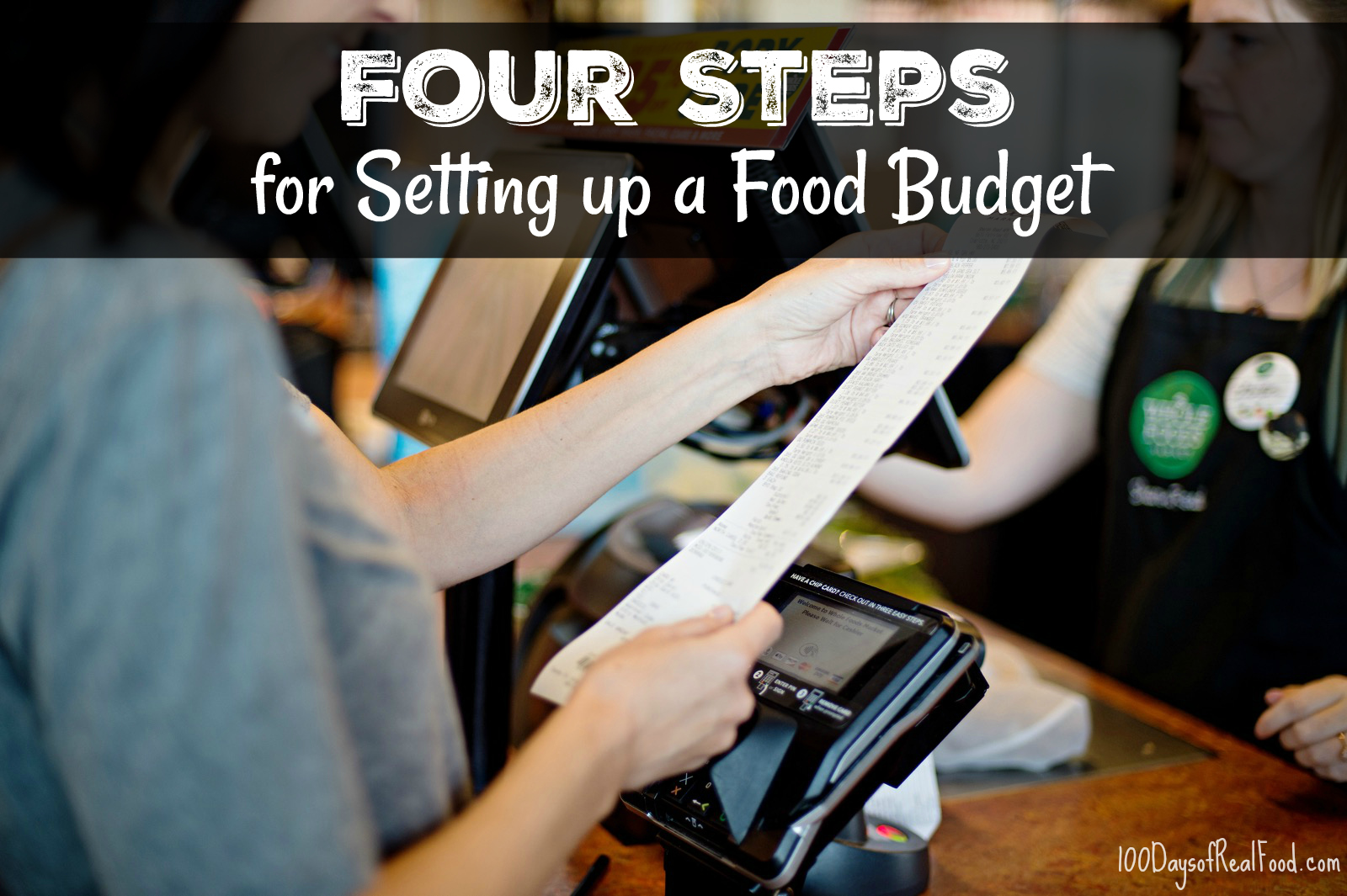 How to set up a food budget on 100 Days of Real Food