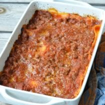 Easy Peasy Classic Lasagna on 100 Days of Real Food