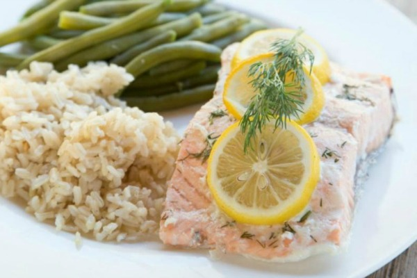 photo of Baked Lemon Dill Salmon