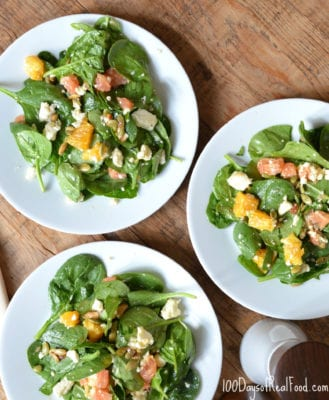 Mexican Citrus Salad on 100 Days of Real Food