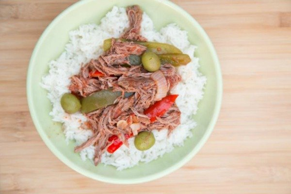photo of Slow Cooker Chicken Ropa Vieja