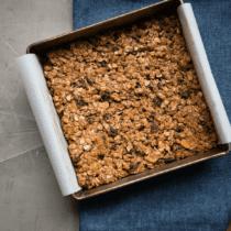 Maple Almond Granola Bars