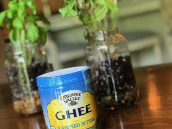 Why we cook with Ghee (clarified butter)