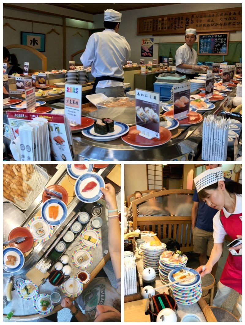 Conveyer Belt Sushi on 100 Days of Real Food