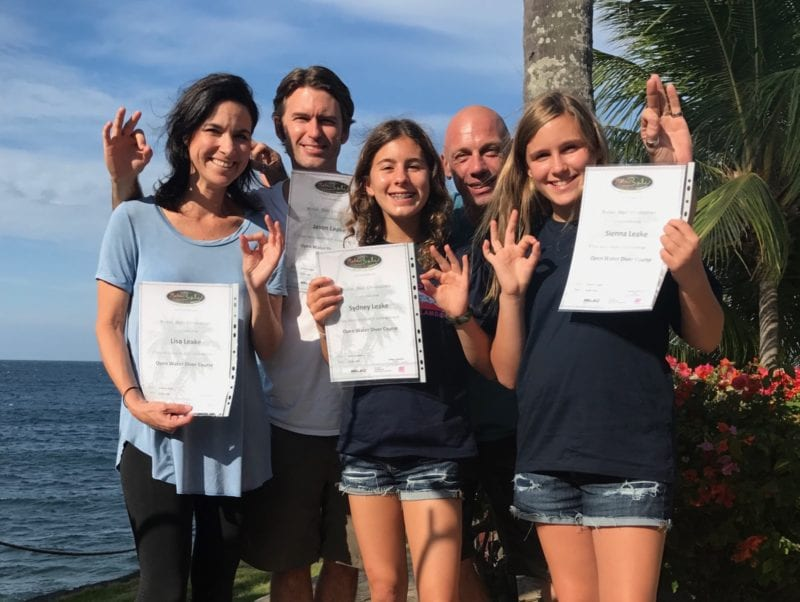 diving certificates on Bali Trip on 100 Days of Real Food