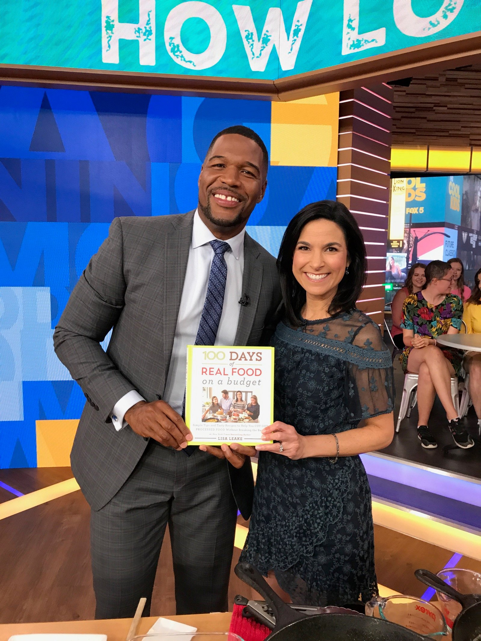 Behind the Scenes at GMA on 100 Days of Real Food