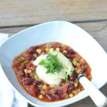 Slow Cooker Meatless Chili